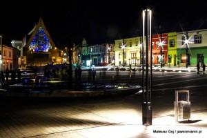 Odnowiony rynek nocą [foto]