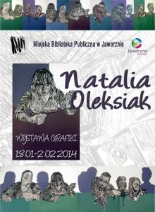 Wystawa grafiki Natalii Oleksiak