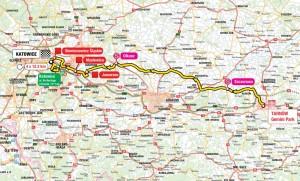 71. Tour de Pologne przejedzie przez Jaworzno 6 sierpnia!