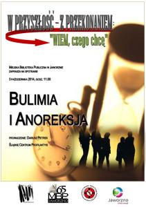 O anoreksji i bulimii w bibliotece