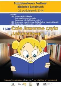 """Całe Jaworzno czyta """"Lokomotywę"""""""