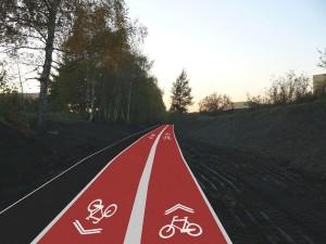 Pierwsze wizualizacje rowerowych velostrad!