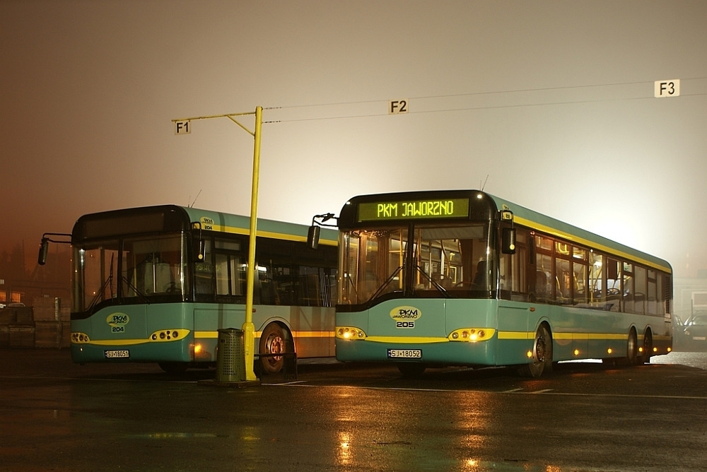 autobusy PKM