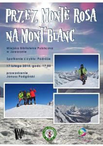 Przez Monte Rosa na Mont Blanc