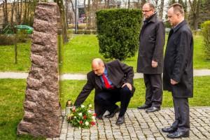 Uczcili ofiary Katynia
