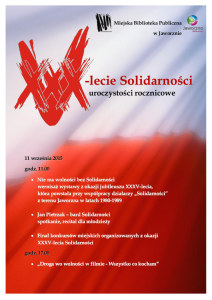 XXXV lat Solidarności