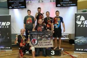 Spartanie z medalami
