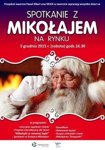 Święty Mikołaj zawita na rynek