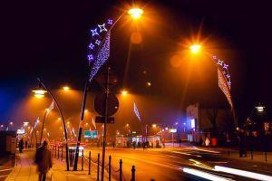Świąteczne oświetlenie Jaworzna