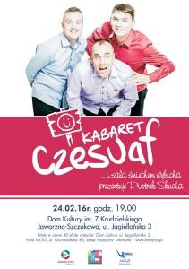 Kabaret Czesuaf w Szczakowej!