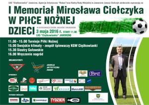 I Memoriał Mirosława Ciołczyka