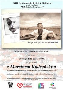Spotkanie z Marcinem Kydryńskim