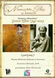 """Tajemnica """"Złotej Damy"""" – Gustav Klimt i jego muzy"""