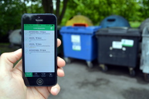 Aplikacja przypomni o… śmieciach