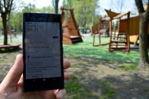 Darmowy internet w Parku Lotników