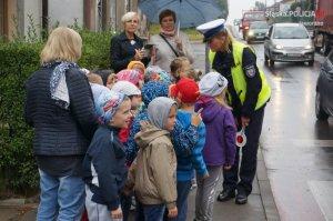 Policjanci odwiedzili uczniów