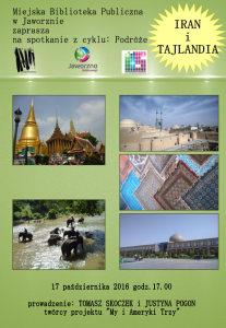 Podróże. Iran i Tajlandia
