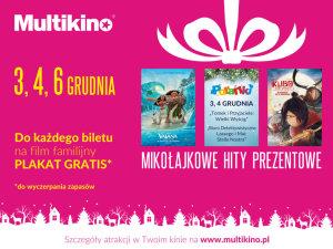 Filmowe MikoA�ajki w kinach sieci Multikino