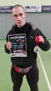 Spartanin walczy w MMA