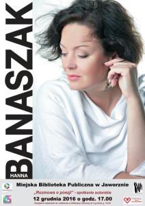 """""""Rozmowa o poezji"""" – wieczór autorski Hanny Banaszak"""