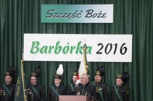 Barbórka w Jaworznie z premier Szydło