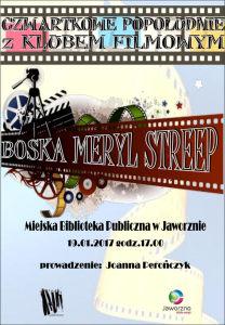 Filmowy czwartek z Meryl Streep