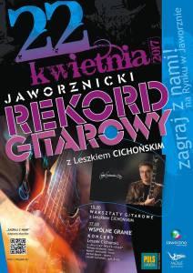 Jaworznicki Rekord Gitarowy z Leszkiem CichoA�skim