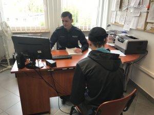 Zarzuty i policyjny dozór dla 20-latka