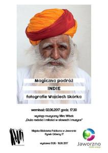 Magiczna podroA?. Indie a�� wystawa fotografii Wojciecha SkA?rki