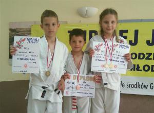 Cztery medale judokA?w