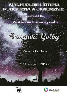 Wystaw malarstwa i rysunku Dominiki Golby