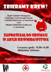 Oddaj krew w… bibliotece