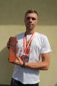Brązowy medal Mariusza Drabińskiego