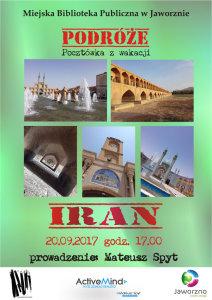PocztA?wka z wakacji: Iran