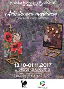 Artystyczne inspiracje. Wystawa prac Grażyny Głowackiej