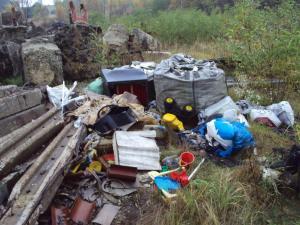 Ponad 100 ton odpadów zebrano z dzikich wysypisk